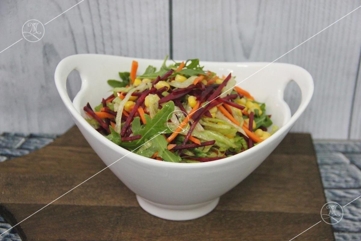 Салат из рукколы с идеальной заправкой